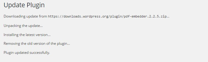Wordpress-update-plugin-log