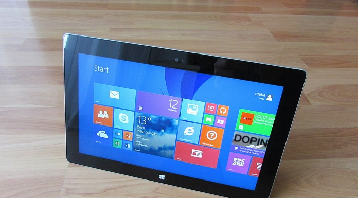 surface windows tablet