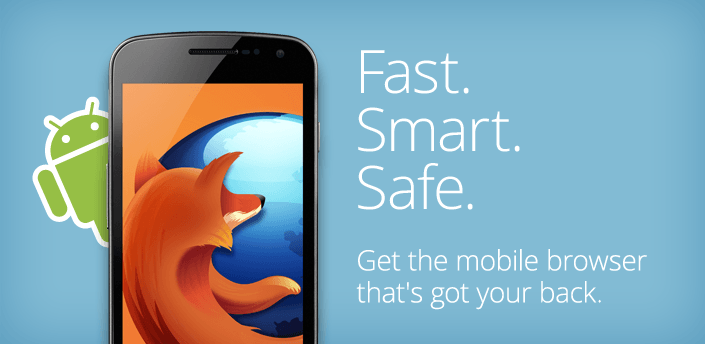 firefox browser for android os