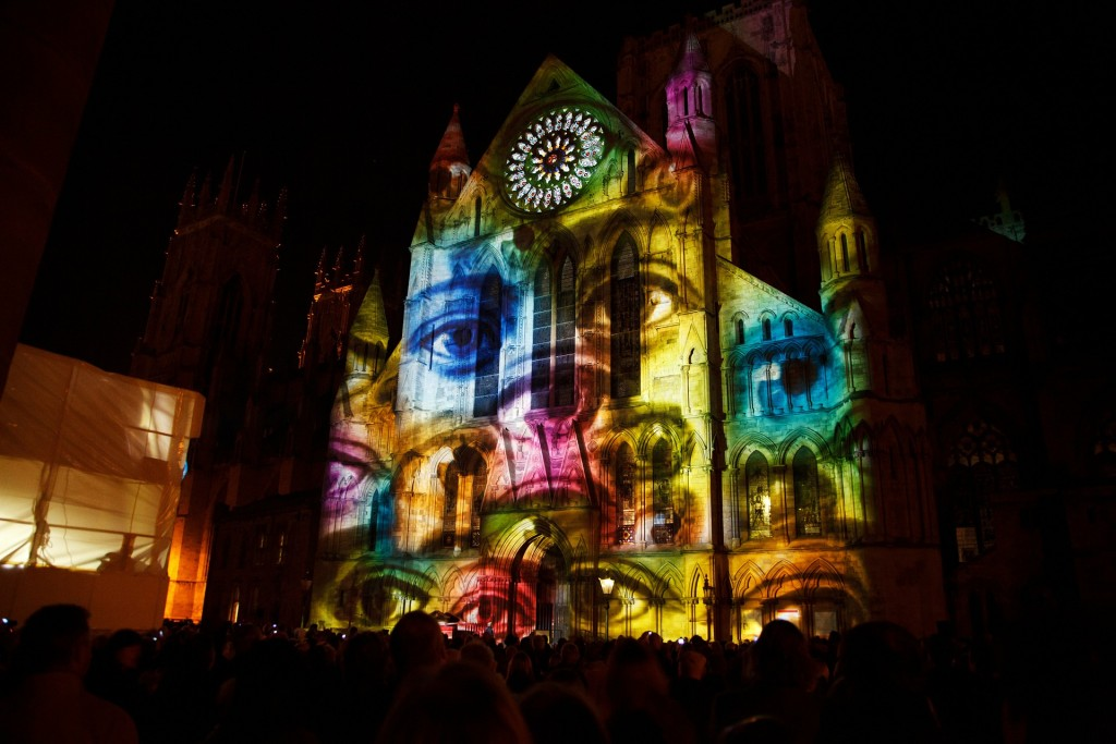 projection mapping 3D objects