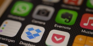 dropbox evernote flipboard