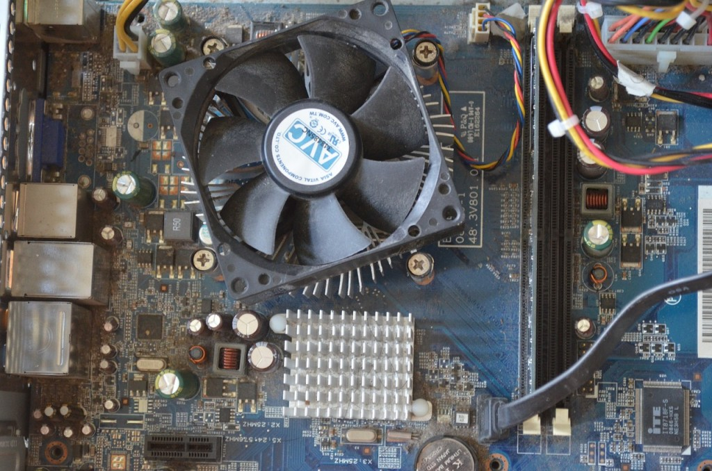 laptop chip overheating