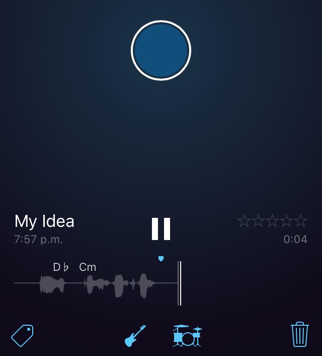 music memos recording ios iphone