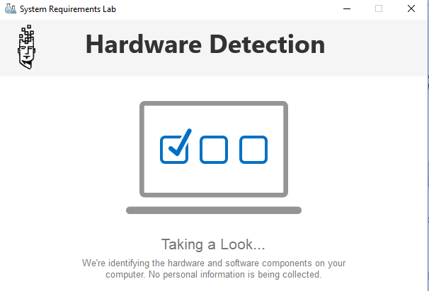 hardware detection computer pc laptop