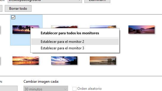 establecer fondo pantalla monitor