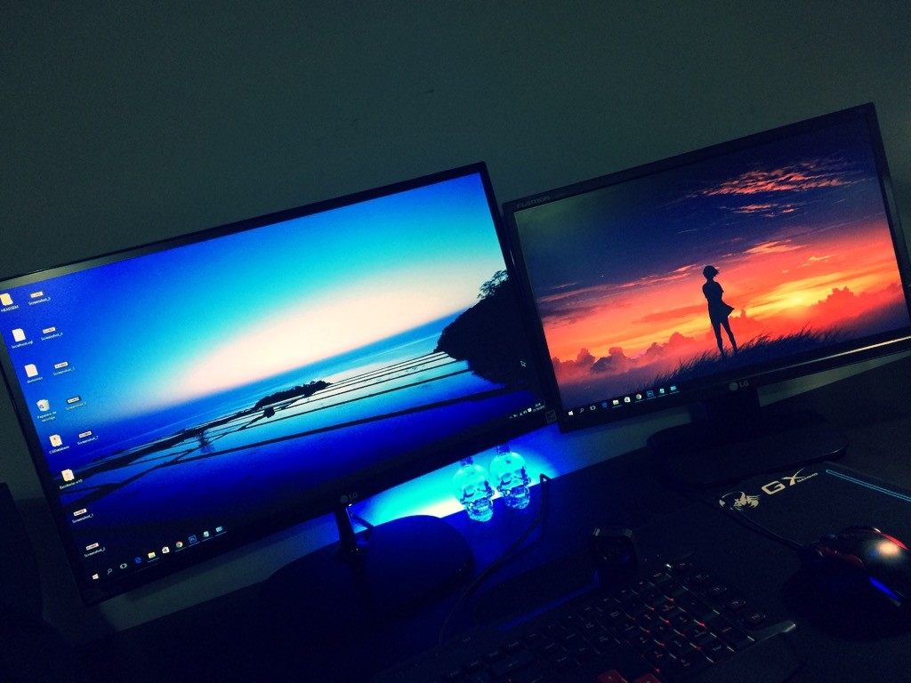 wallpapers diferentes en cada monitor windows 10