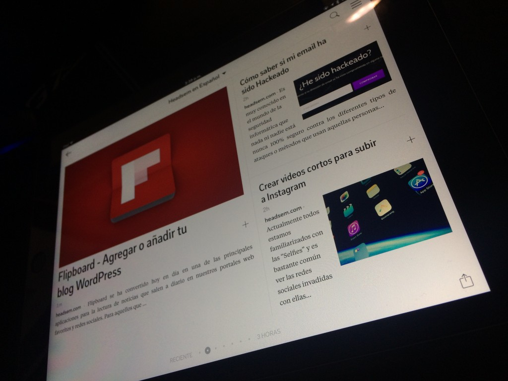 como integrar wordpress con flipboard