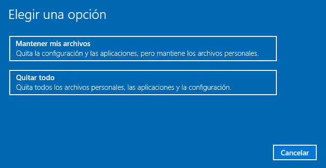 pasos para formatear mi laptop con windows 10