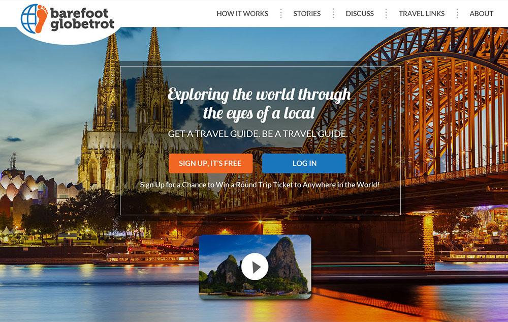 pagina web para buscar viajes y guias