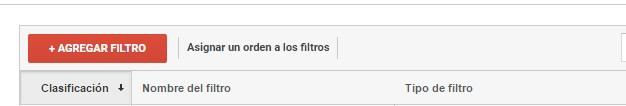 filtros trafico google analytics