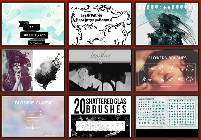brushes de Photoshop gratis brushking