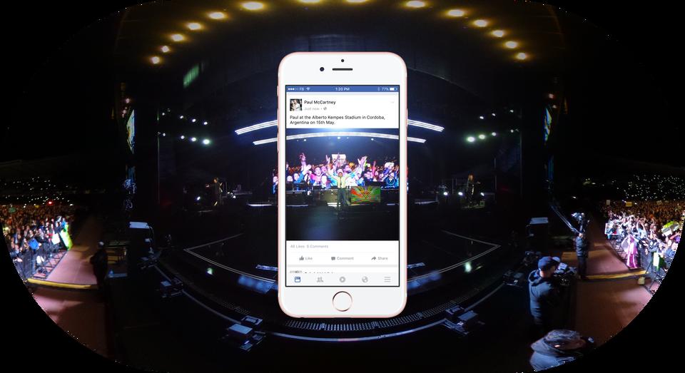 publicar fotos en 360 grados facebook