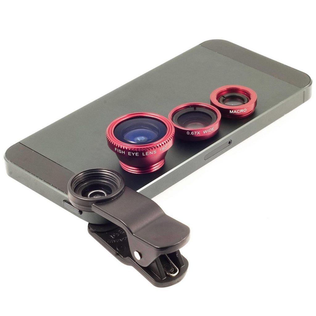 Accesorios cámara de teléfono