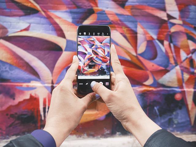 arte digital smartphone