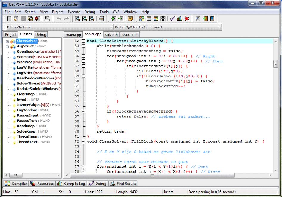 IDE Dev-C++