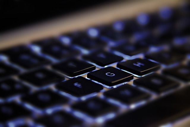 imagen teclado negro