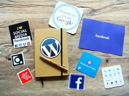 wordpress en diferentes redes sociales