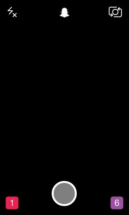 snapchat pantalla lista para captura