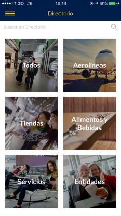 aplicaciones para navegar en aeropuertos