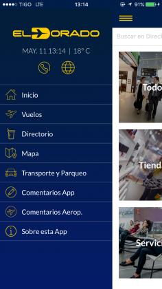 apps de mapas para aeropuerto bogota