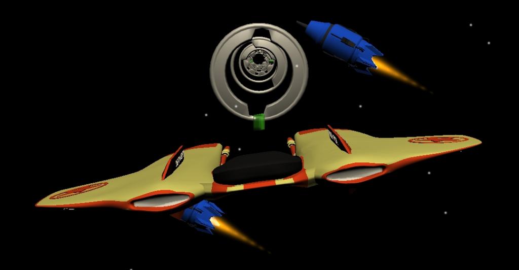 naves juego para pasar niveles en el espacio