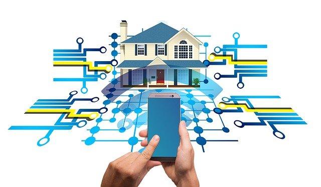 smart house con sistemas inteligentes