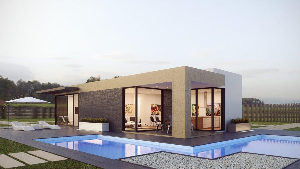 renderización de una casa